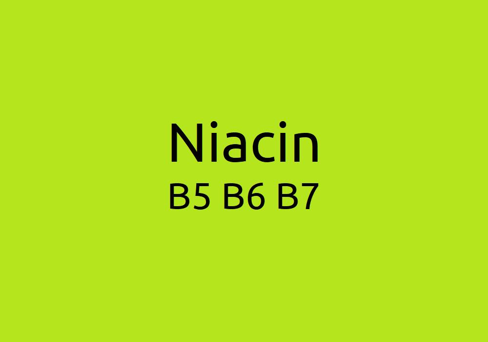 Niacin, B5, B6 & B7: Wasserlöslicher Vitaminmangel & Toxizität