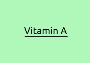 Vitamin A: Fettlösliche Symptome von Vitaminmangel und Toxizität